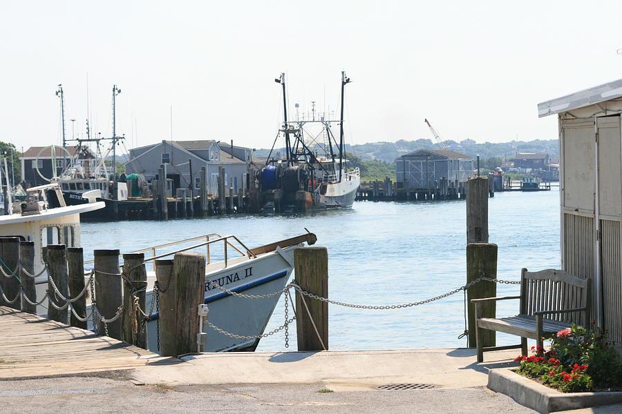Montauk Photograph - Montauk Harbor  by Christopher Kirby