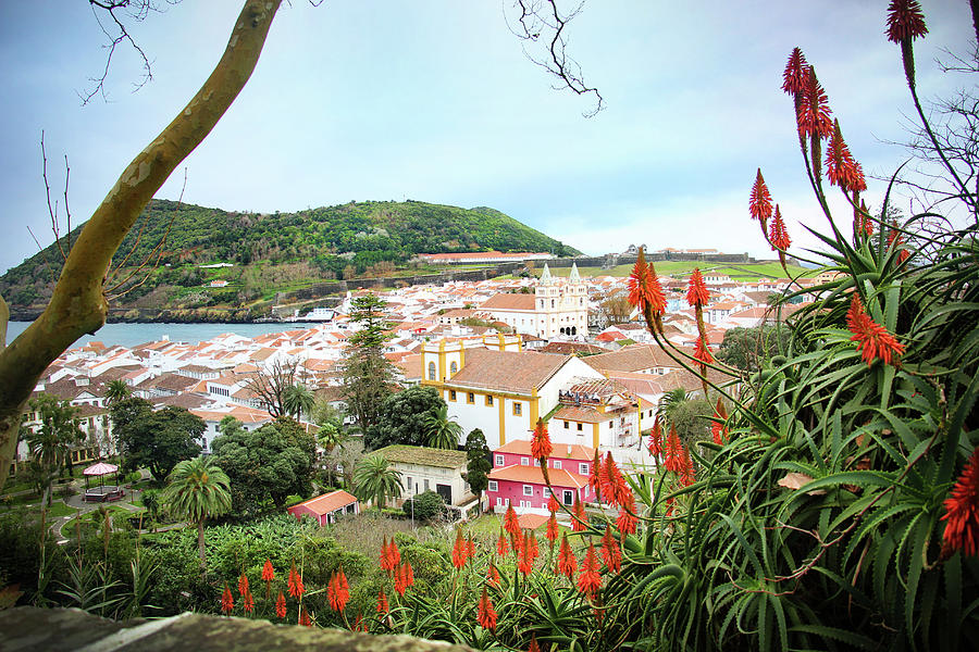 Monte Brasil and Angra do Heroismo, Terceira by Kelly Hazel