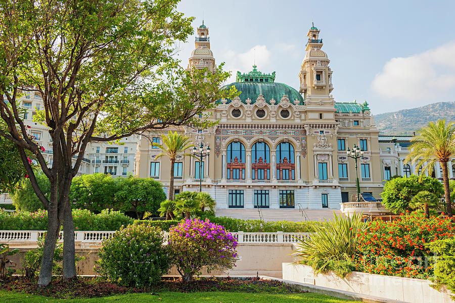 Monte Carlo Casino Photograph