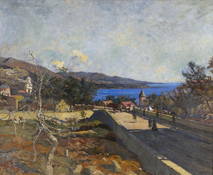 Edward Darley Boit Painting - Monte Carlo by Edward Darley Boit