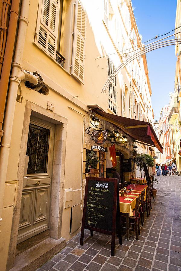 Monaco Photograph - Monte Carlo Pizza by Bryan Toro