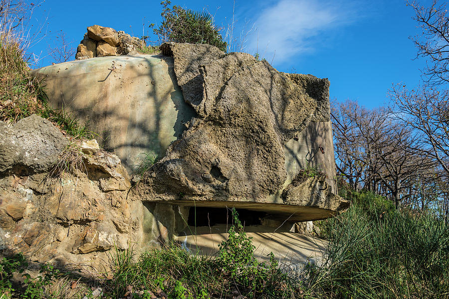 Abandoned Photograph - Monte Moro Bunkers - Bunkers Monte Moro by Enrico Pelos