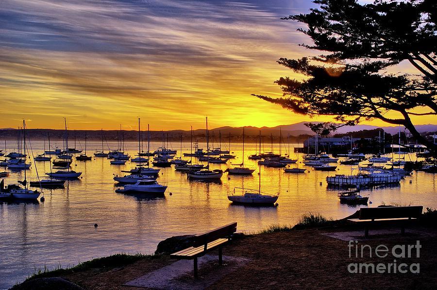 Monterey Bay Sunrise by Alex Morales
