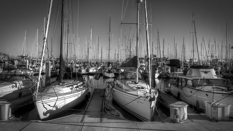 Monterey Docks by Robert Melvin