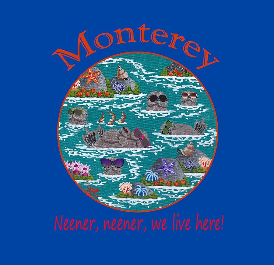Merry Kohn Painting - Monterey Neener by Merry Kohn Buvia