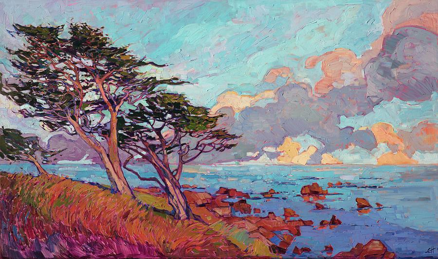 Monterey Pines by Erin Hanson