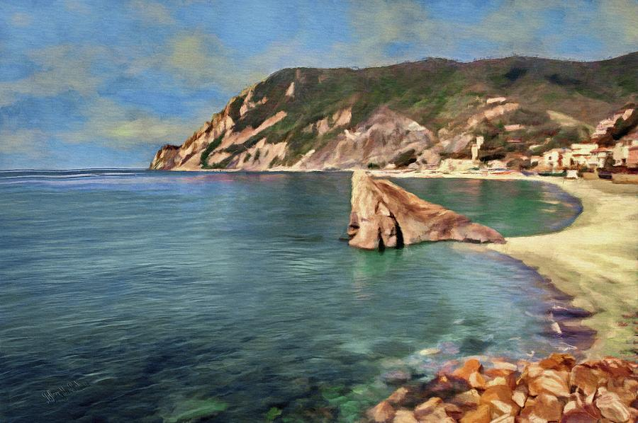 Monterosso Beach by Jeffrey Kolker