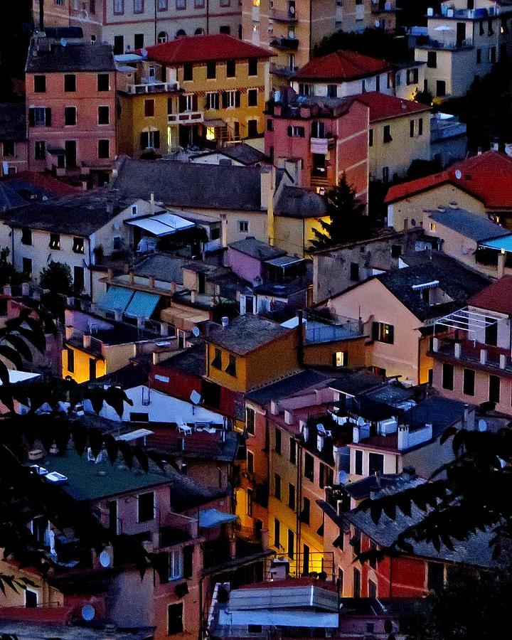 Monterosso Italy Photograph - Monterosso By Night by Michael Ramsey