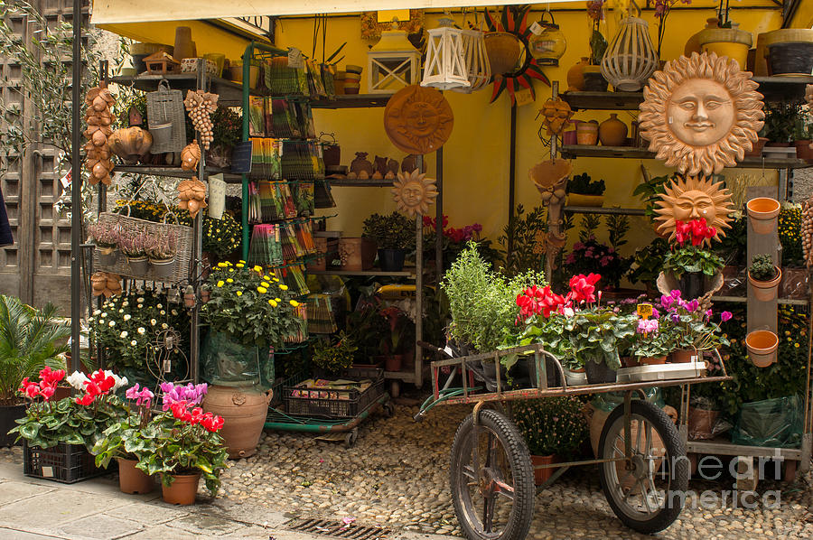 Monterosso Outdoor Shop by Prints of Italy