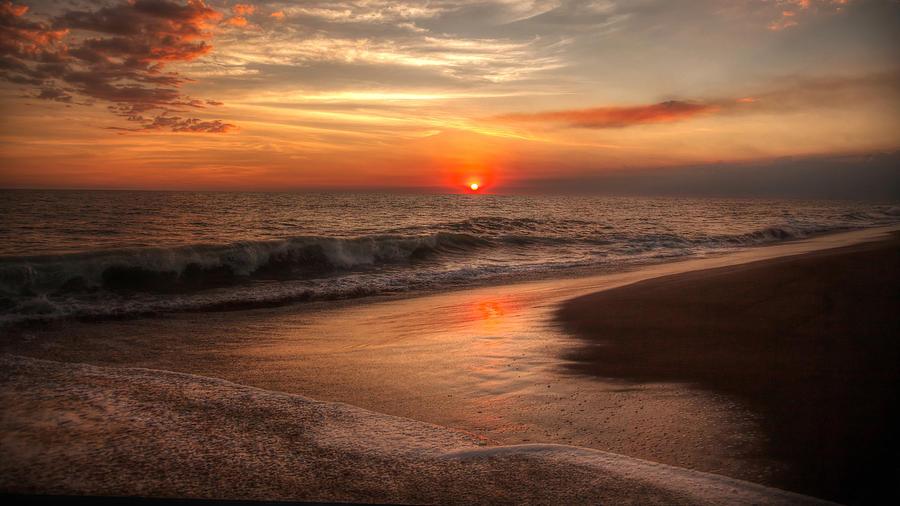 Monterrico Sunset by Stephen Dennstedt