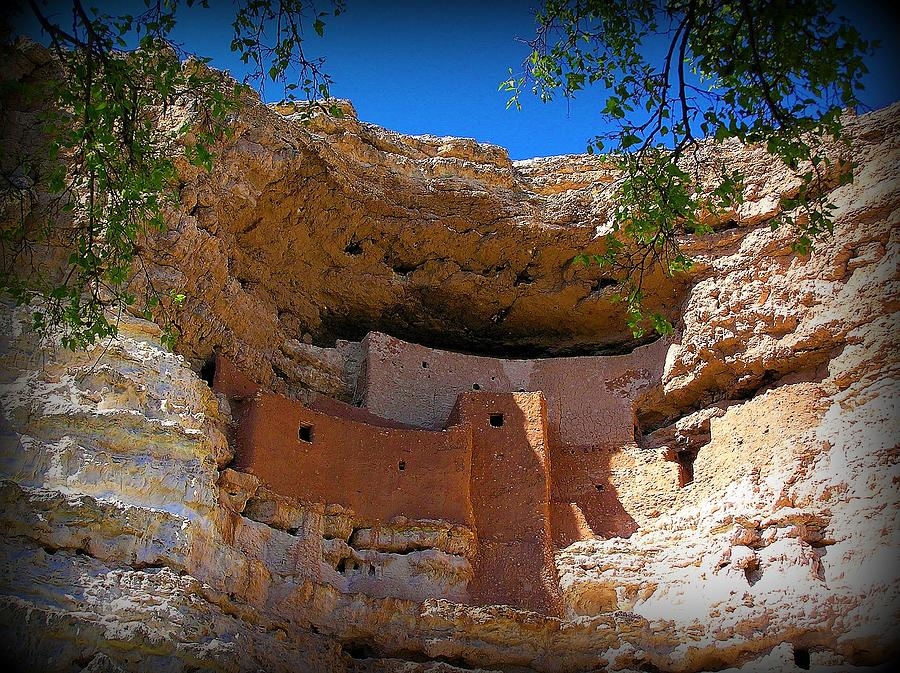 Montezuma Castle Photograph - Montezuma Castle In Arizona by Jen White