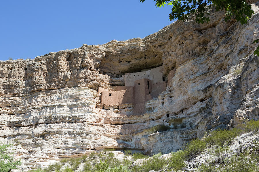 Montezuma Castle National Monument Arizona by Steven Frame