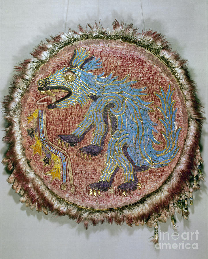 16th Century Photograph - Montezuma II: Shield by Granger