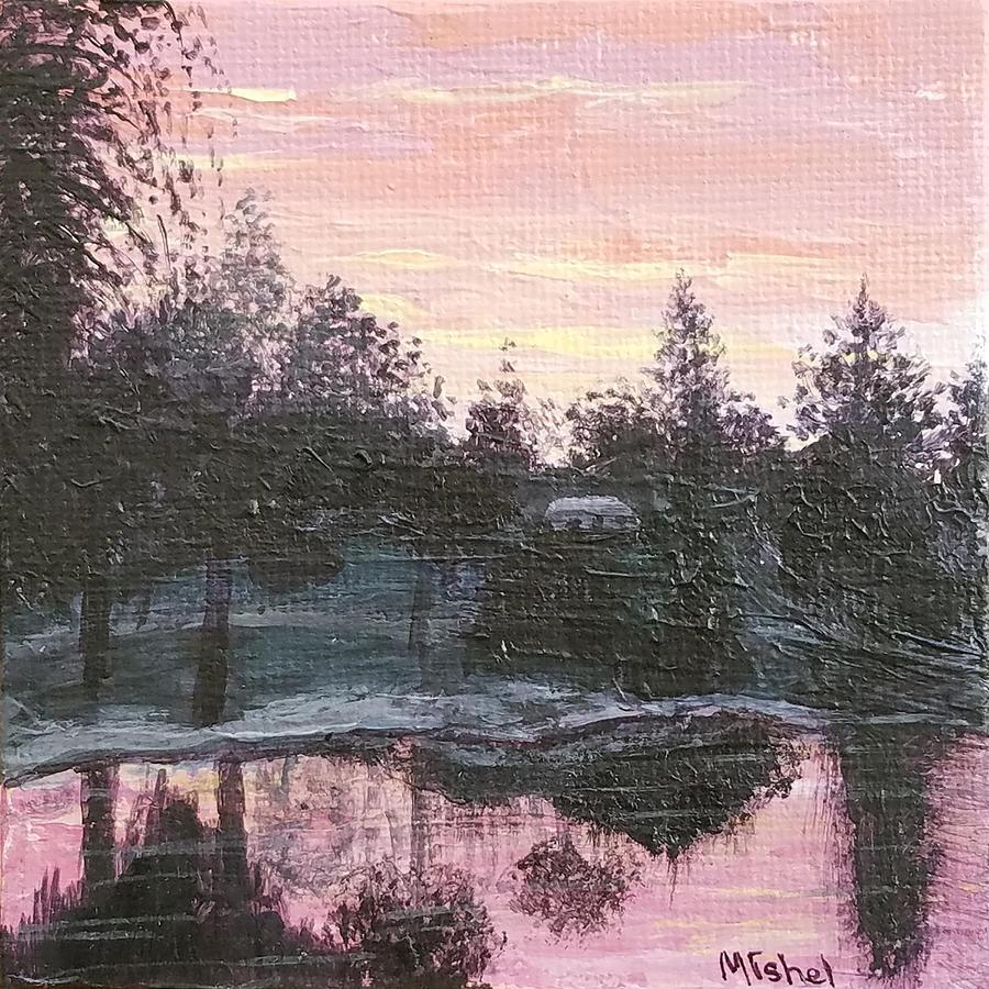 Montgomery Pond by Mishel Vanderten