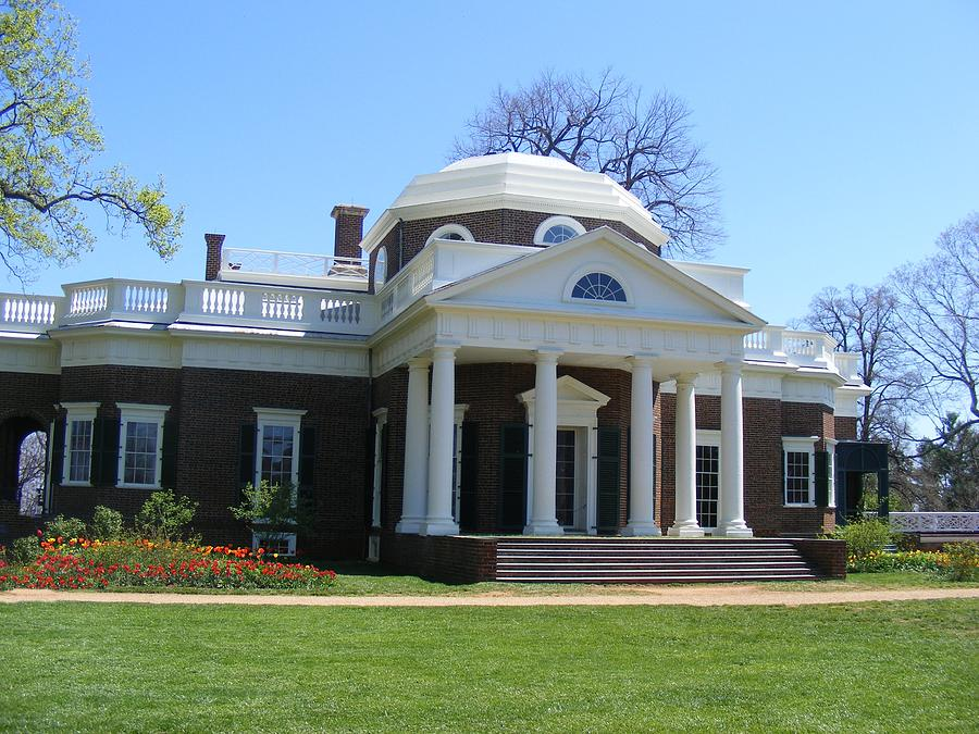 Thomas Jefferson Photograph - Monticello by James and Vickie Rankin