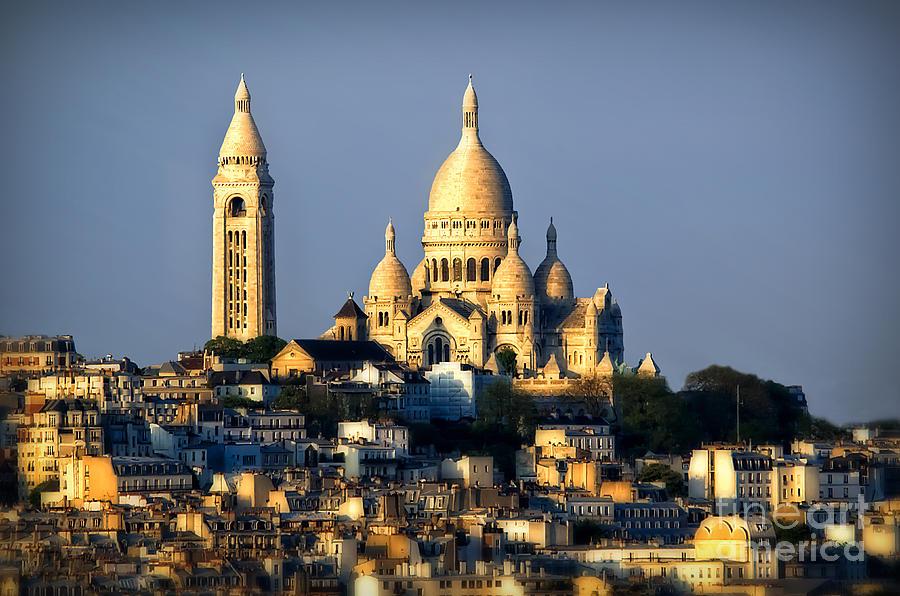 Rainy Photograph - Montmartre by Alessandro Giorgi Art Photography