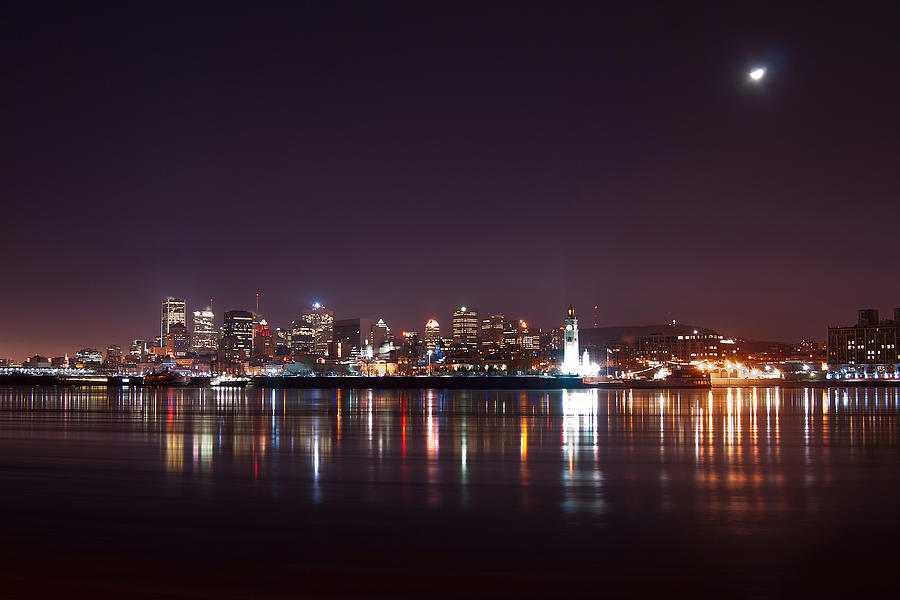 Night Photography Photograph - Montreal At Night by Martin Rochefort