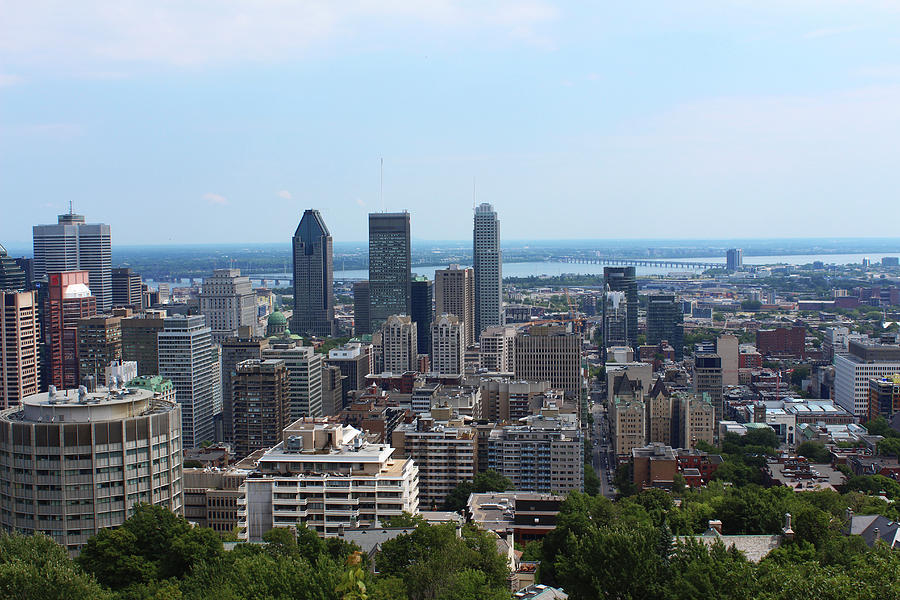 Montreal Cityscape by Samantha Delory