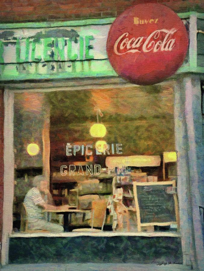 Montreal Corner Shop by Jeffrey Kolker
