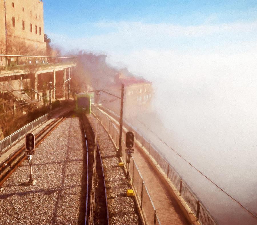 Montserrat Winter Morning Photograph