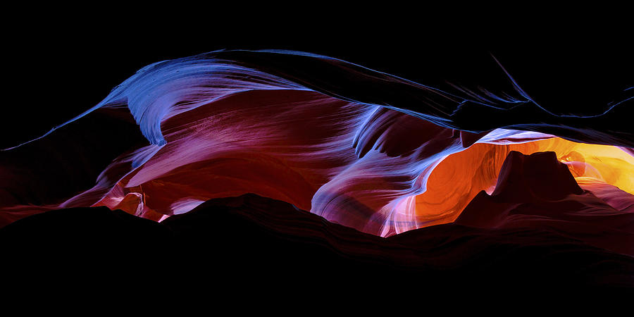Antelope Canyon Photograph - Monument Light by Chad Dutson