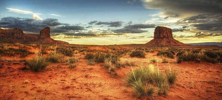 Desert Photograph - Monument Monolith by Stuart Deacon