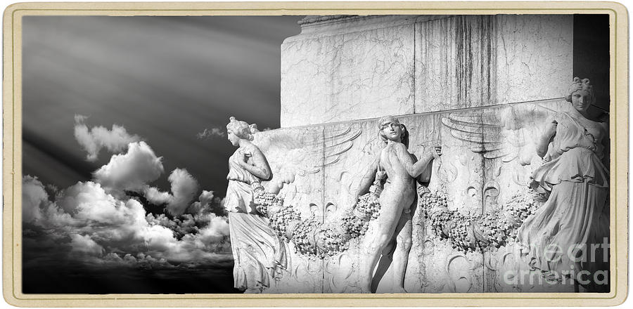 Roman Monument Photograph - Monument Particular In Rome by Stefano Senise
