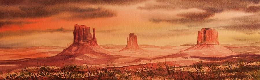 Landscape Painting - Monument Valley by Kevin Heaney