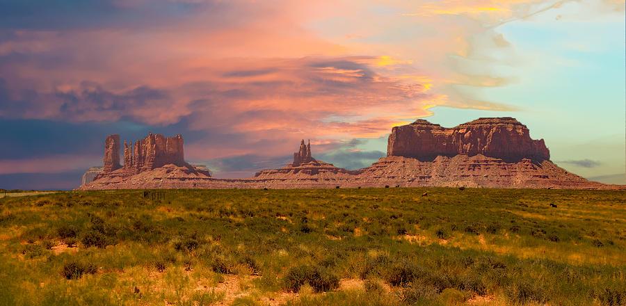 Monument Valley Landscape Vista by Gaylon Yancy