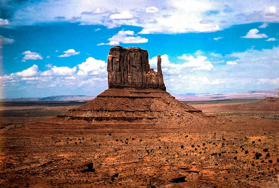 Monument Valley Photograph - Monument Valley Monolith by Tom Zukauskas