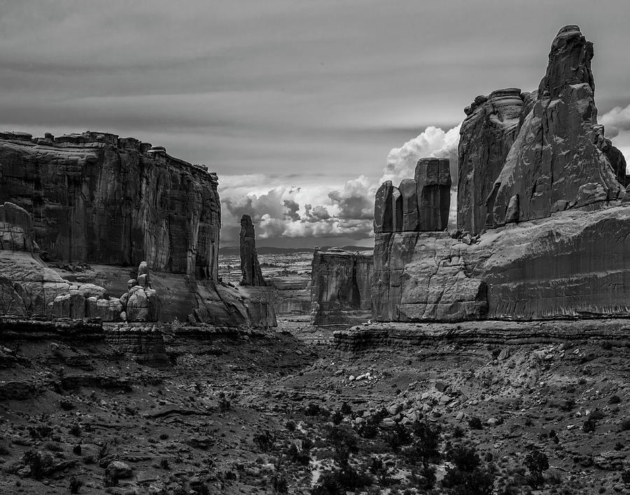 Southwest Photograph - Monument Valley by Rick Bivona