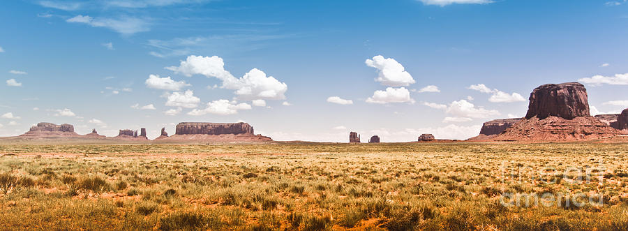 Landscape Photograph - Monument Valley Wide Angle by Ryan Kelly