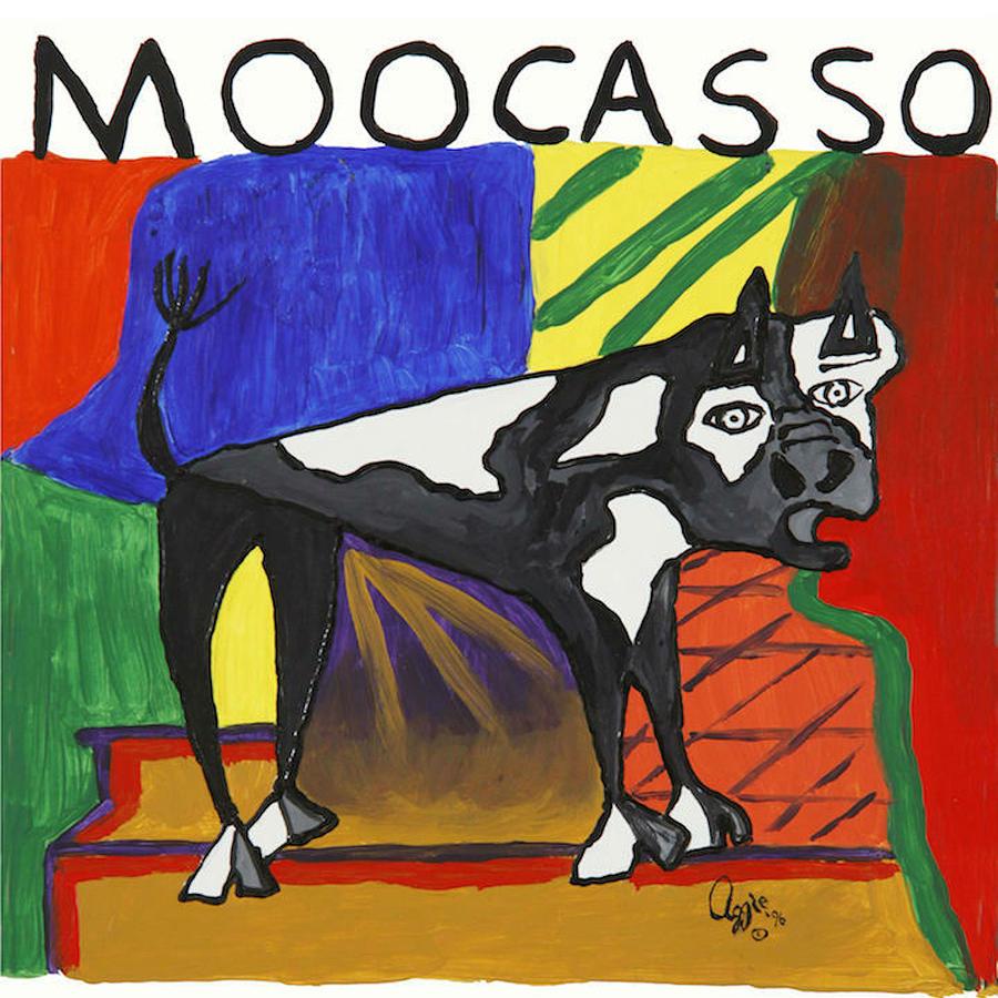 Moocasso by Stephanie Agliano