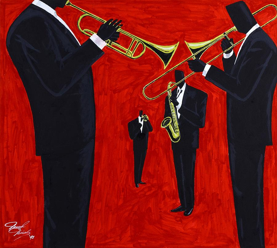 Music Painting - Mood Of Remembrance by Darryl Daniels
