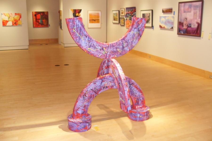 Abstract Sculpture Sculpture - Mood Rings by Edward Heim