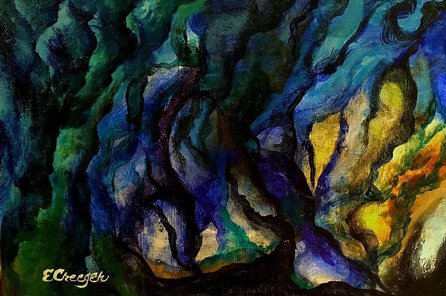 Moody Bleu by Esperanza J Creeger