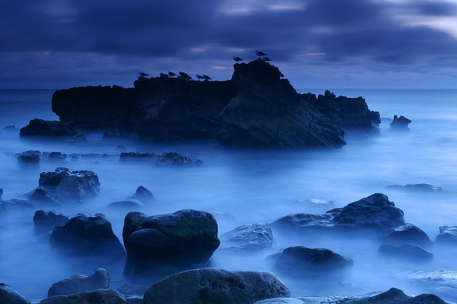 California Photograph - Moody Blue by Eric Foltz