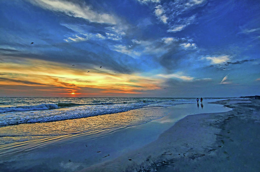 Gulf Of Mexico Photograph - Moody Blues by HH Photography of Florida