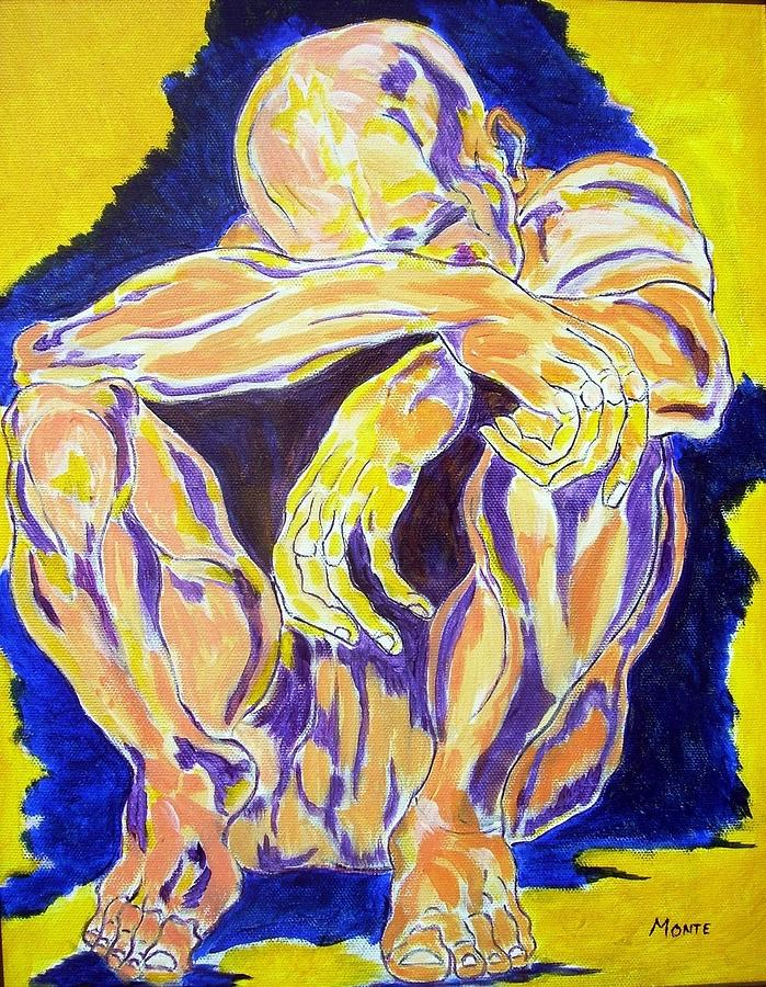 Moody Blues Painting By Robert Anthony Montesino