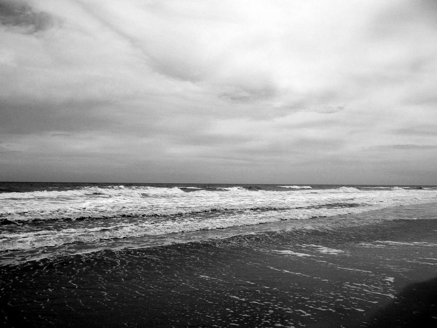 Moody Ocean Beach by Lisa Blake