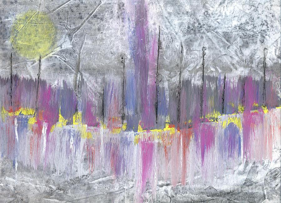 Mixed Media Mixed Media - Moon Dance by Cyndi Lavin