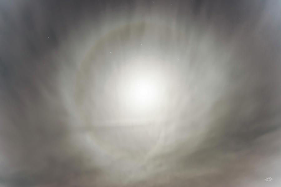 Beautiful Photograph - Moon Dog by Leland D Howard