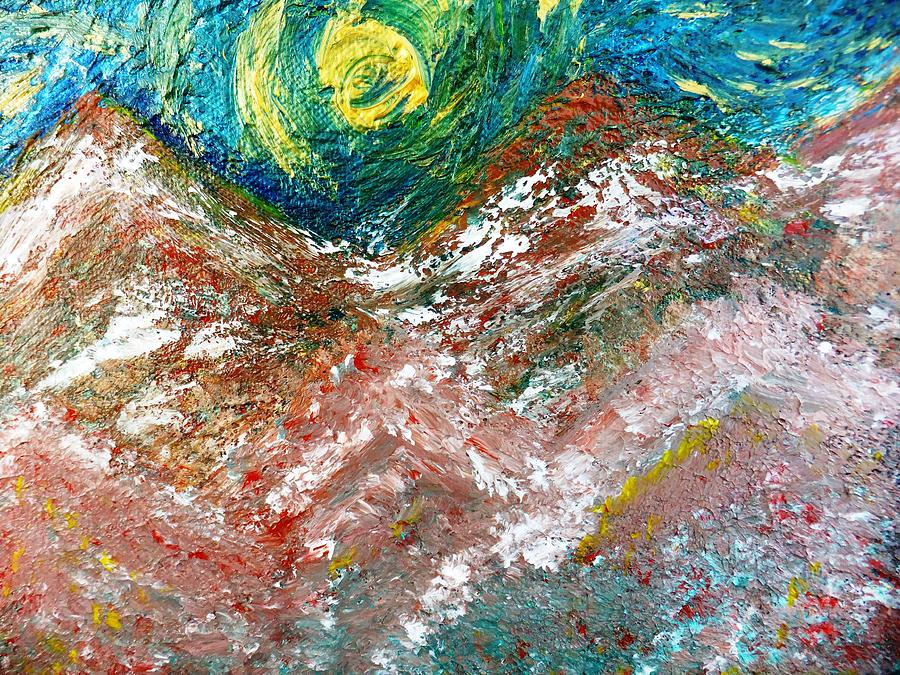 Moon Painting - Moon Dream by Amy Drago
