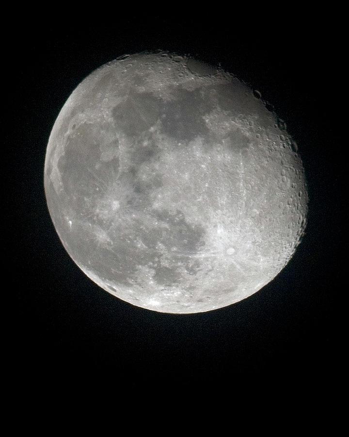 Moon Photograph - Moon by Gary Langley