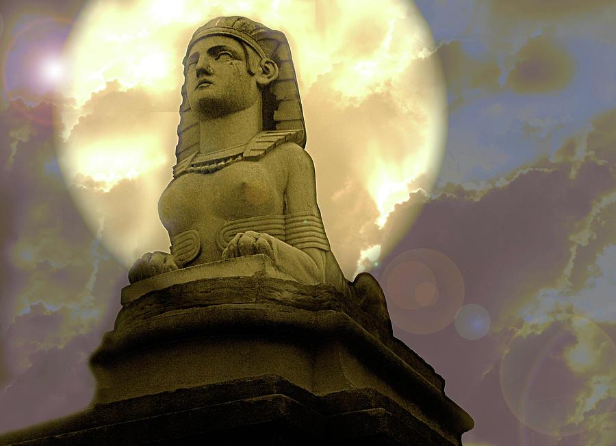 moon goddess by Rochelle Berman