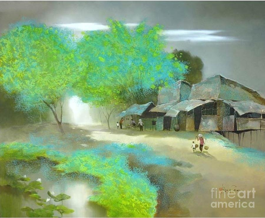 light background paintings light 03 painting by dang can