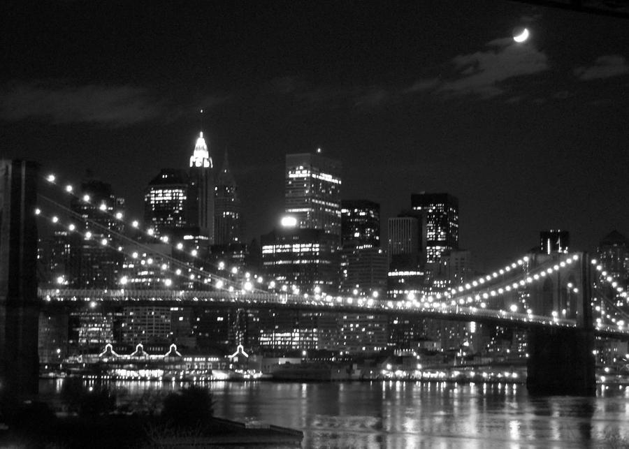 Full Moon over New York City July  Photo taken fro Flickr
