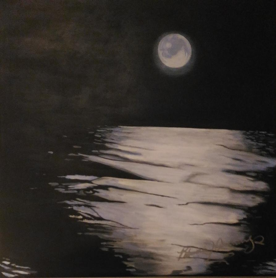 Moon Over The Wedge by Patricia Brewer-Cummings