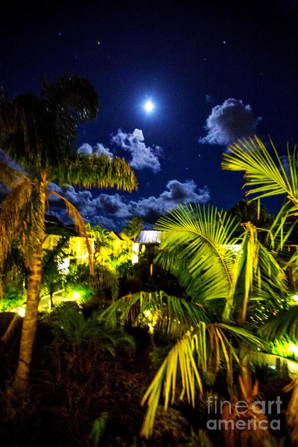 Moon Over Islands Photograph by Rick Bragan