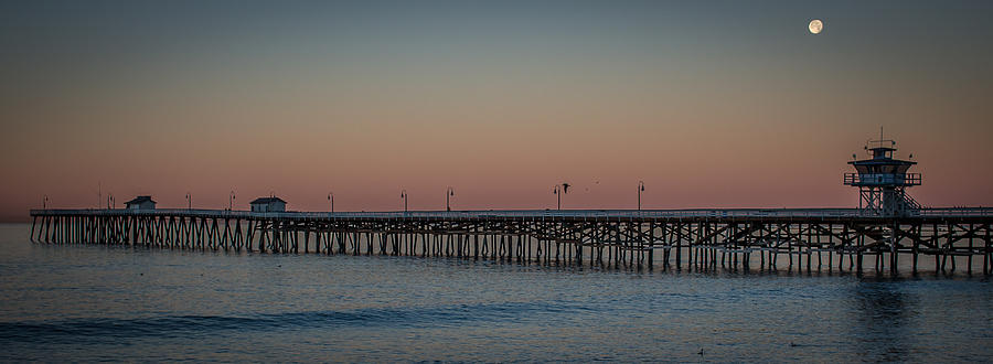 Moon Over the Pier by Richard Cheski